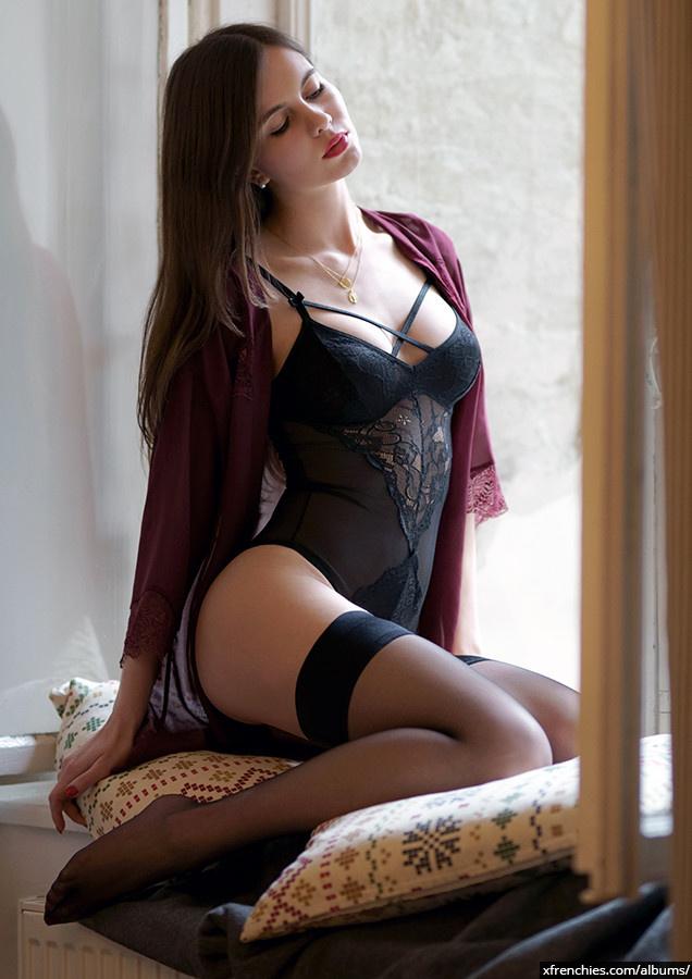 Stocking tube   Femme sexy en collant, photo de pied n°0